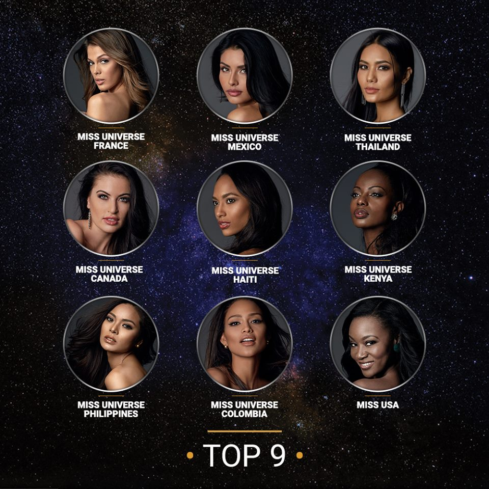 Miss Universe Top 9